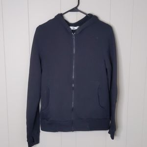 The North Face Black Hooded Full Zip Jacket